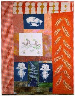 Squirrel and Locust by Sue Reno