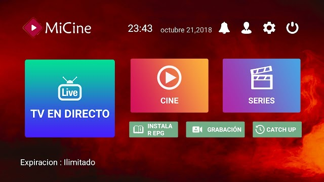 MiCine APK Tv En Vivo en Tu Android