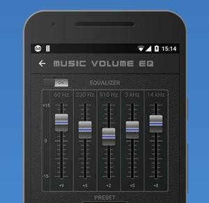 Music Volume EQ + Bass Booster untuk Hp Android