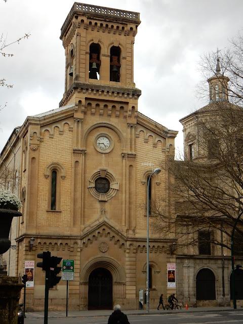 Iglesia de San Lorenzo, Pamplona, Navarra, Elisa N, Blog de Viajes, Lifestyle, Travel