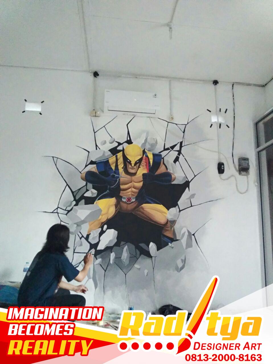 Spesial Untuk Kamu Mural Dinding Hitam Putih 3d Modern