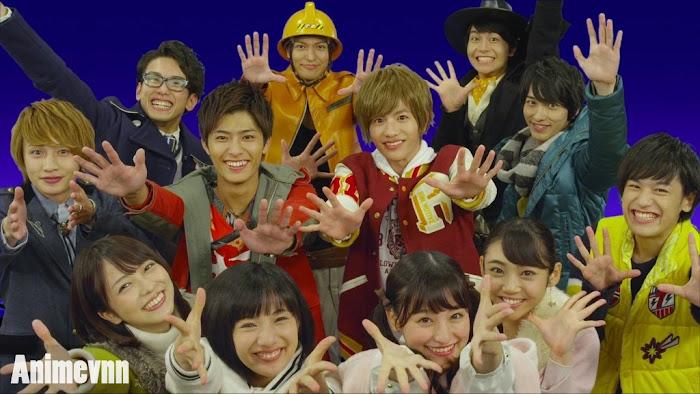 Ảnh trong phim Shuriken Sentai Ninninger VS ToQGer The Movie: Ninja In Wonderland 1