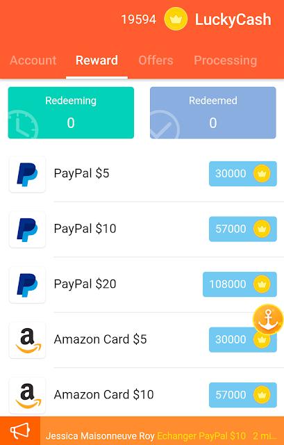 شرح تطبيق lucky cash 2017