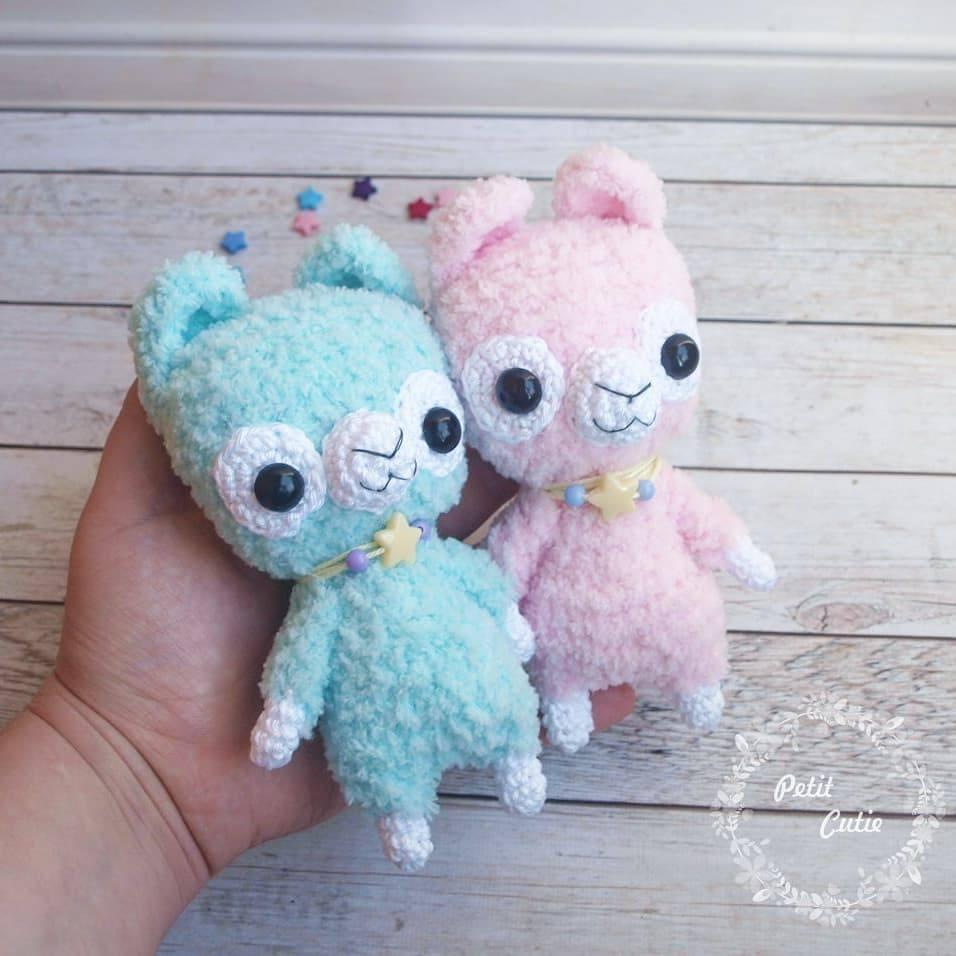 Alpaca Amigurumi Free Crochet Pattern | 956x956