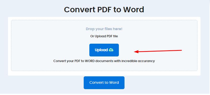 Cara mengubah PDF ke Word dengan Duplichecker