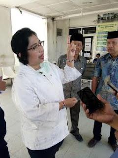 Banyak Kekurangan, Irma Suryani  Prihatin Dengan Kondisi RSUD Kayuagung