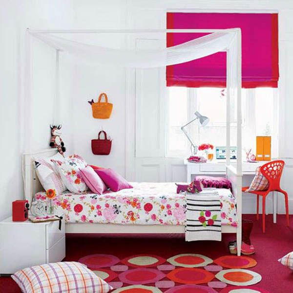 Cute Bedroom Ideas For College Girls - 5 Small Interior Ideas