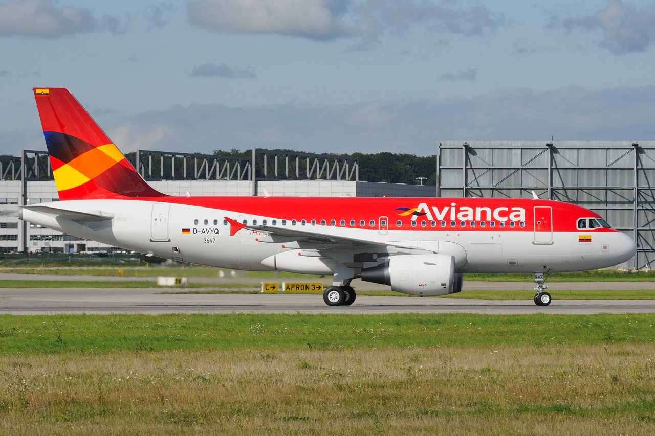 Letter Code For Avianca Airlines