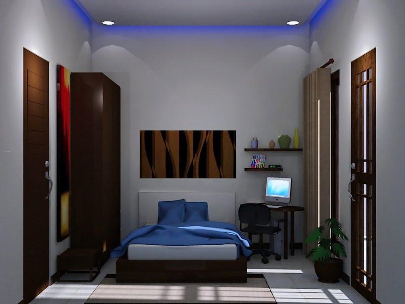 Interior Kamar Tidur Minimalis Sederhana