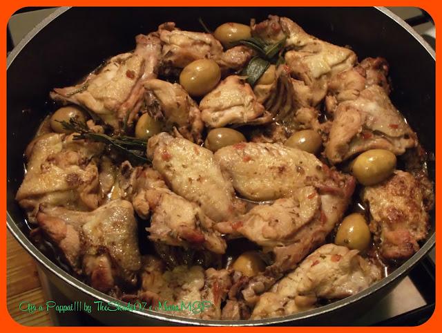 Fotografia della ricetta del Pollo ai pomodori secchi conditi sott'olio / Caboiscu cun pribada cundida