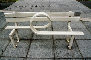Jeppe Hein Modified Social Benches at Raffles Place, Singapore