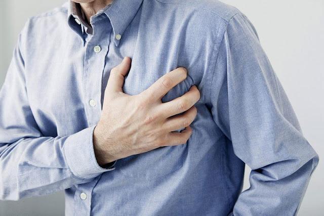اعراض الإصابة جلطات القلب المفاجئة
