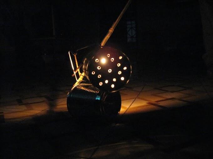 Tự làm lồng đèn ống lon (xe lon)