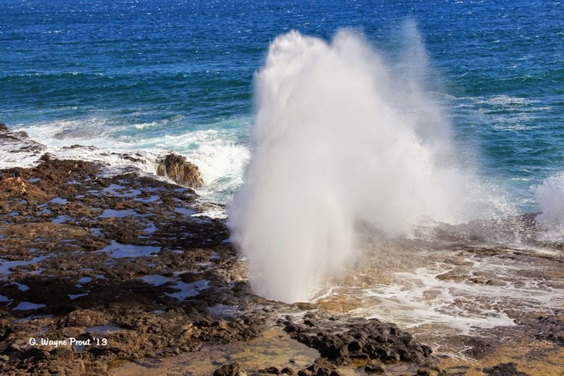 Spouting Horn Blowhole | Kauai, Hawaii