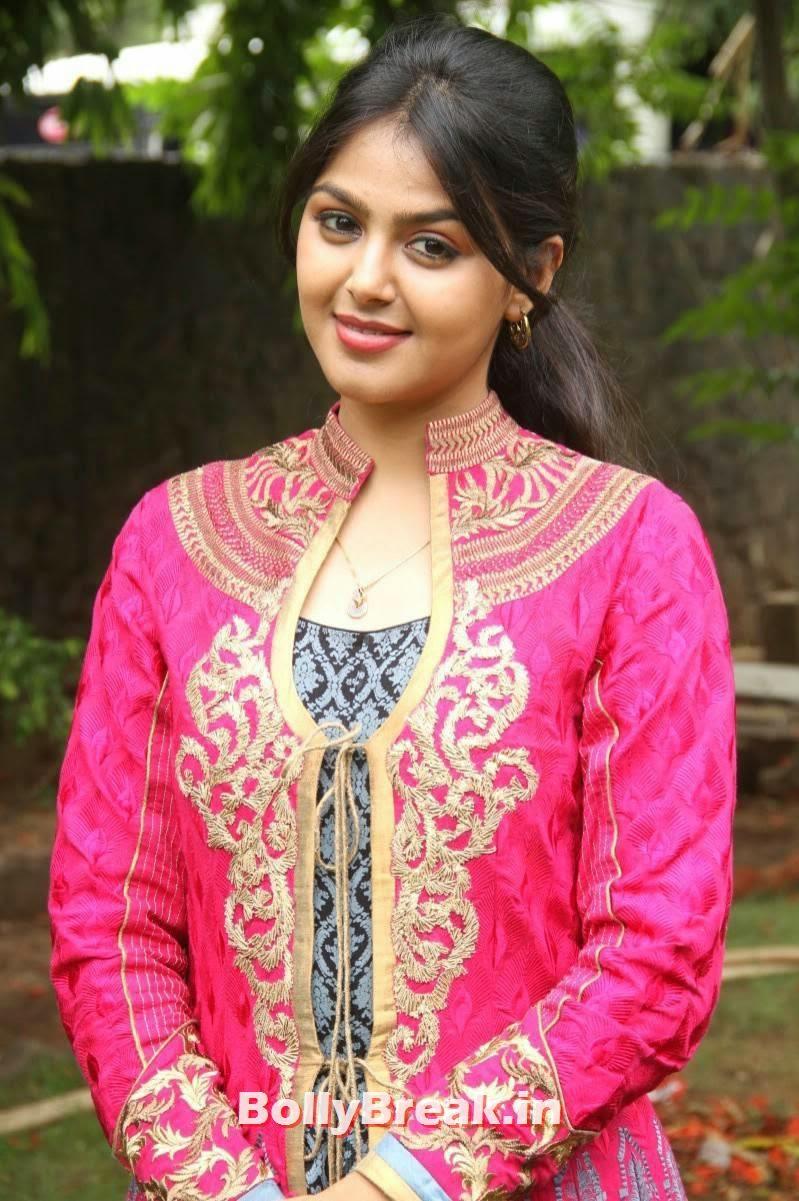 , Monal Gajjar Hot Photos - Pink Anarkali Dress