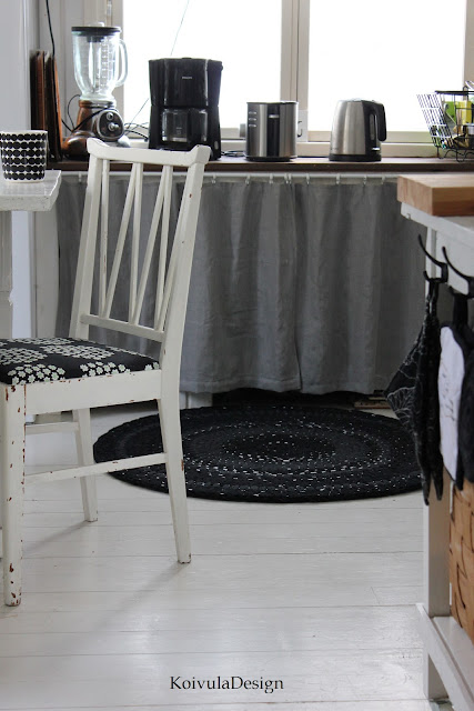 KoivulaDesign Diy matto keittiöön