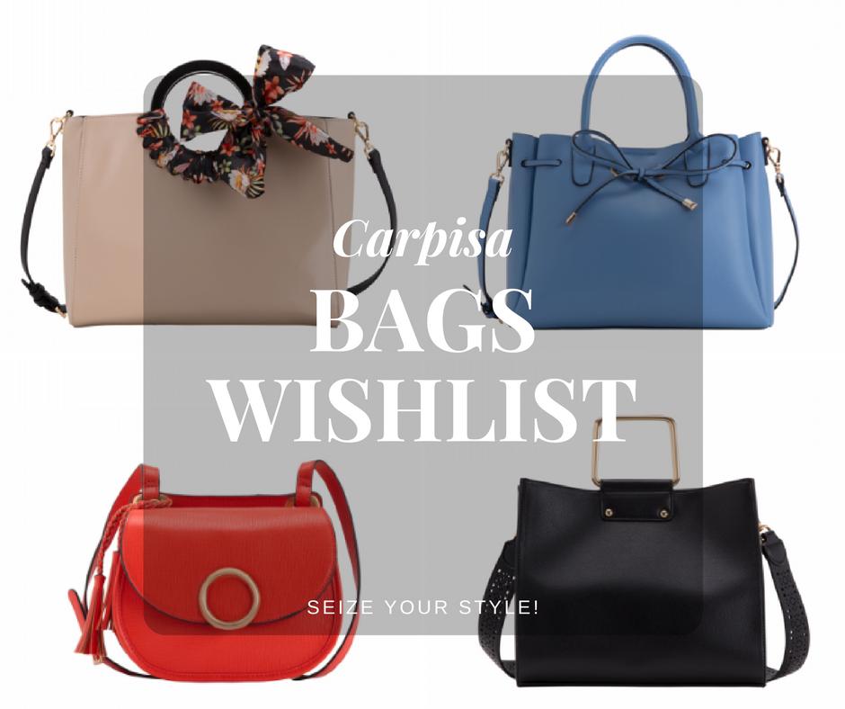 203bfb7068366 Seize your Style!  Carpisa Bags Wishlist