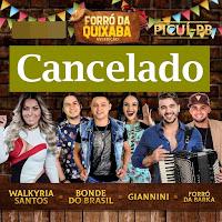 Forró da Quixaba é cancelado; dinheiro de ingressos será devolvido