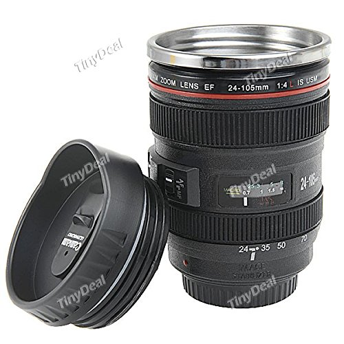 Camera Lens Style EF 24-105mm Lens Coffee Mug