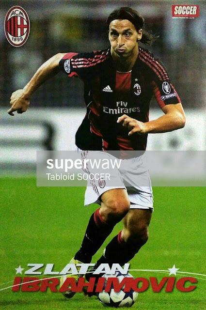 Zlatan Ibrahimovic AC Milan 2010
