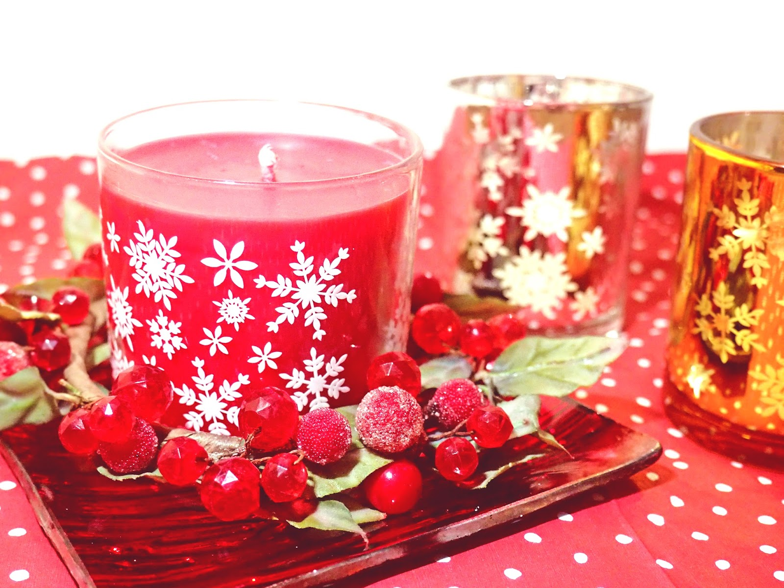 PartyLite Reminiscent Crimson Berry Candle Review Giveaway