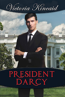 Book cover: President Darcy by Victoria Kincaid