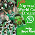Keep Hope Alive!  - Join Super Eagles Fans Group on WhatsApp