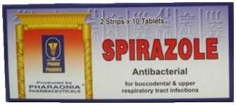 سيبرازول فورت Spirazole Forte مضاد للبكتريا
