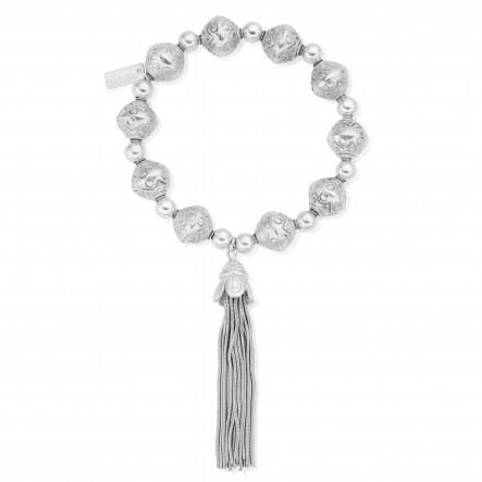 ChloBo Feature Bead Tassel Bracelet from the Iconics Collection