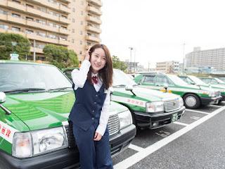 Ikuta Kei, Sopir Taksi Tercantik Di Dunia