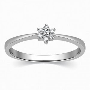 Latest Platinum Rings for Women 2015