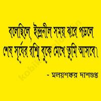 ব্যতিক্রম হাওয়ায় - মলয়শঙ্কর দাশগুপ্ত