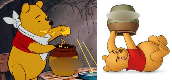 wow ternyata tokohtokoh kartun winnie the pooh