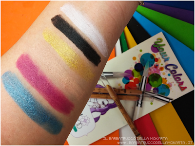swatches Makeup bio Miss trucco matite Your Color eyes