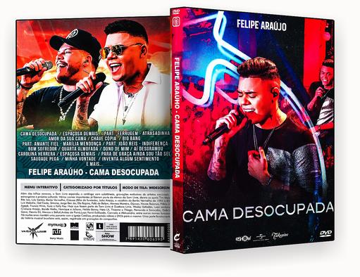 CAPA DVD – Felipe Araujo Cama Desocupada – ISO