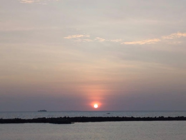 Sunset in Akkarena Makassar