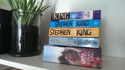 In My Mailbox - Stephen King books
