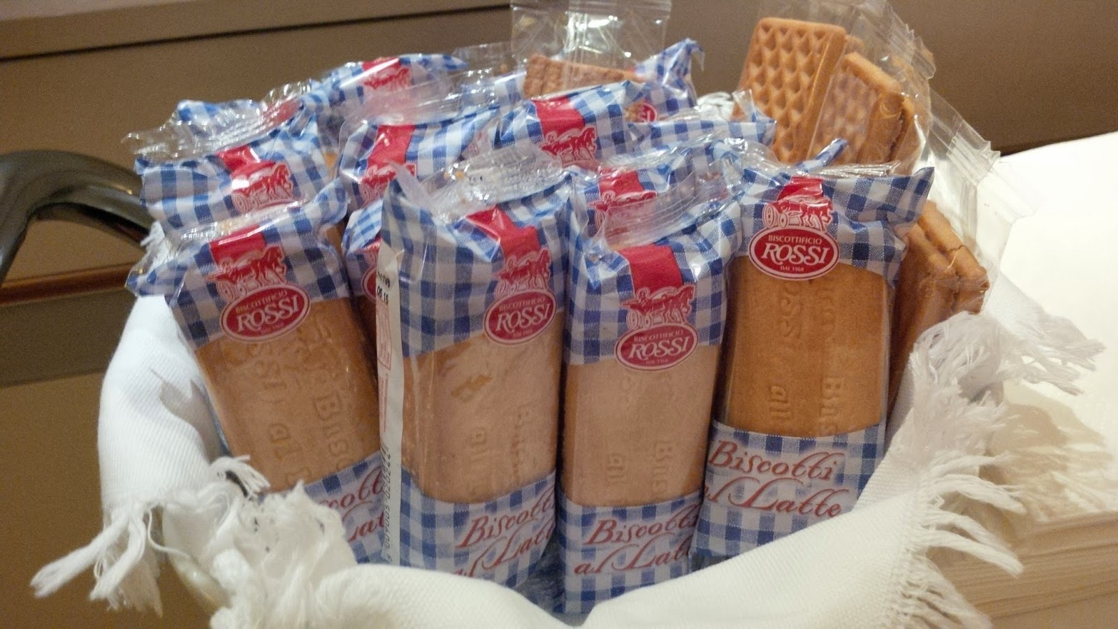 Biscuits Rossi in Hotel Accademia in Verona
