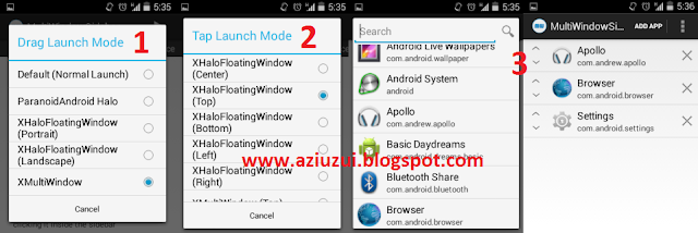Memisah Layar Android Menjadi Dua Bagian