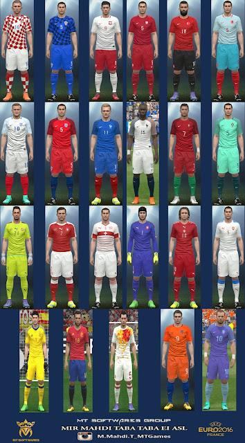 PES 2016 Euro 2016 Kit v.3 by MT Games 1991