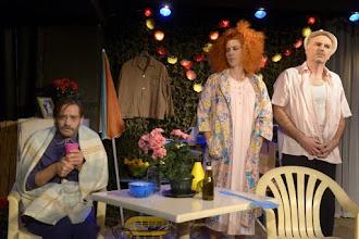 Théâtre : Une laborieuse entreprise de Hanokh Levin - Mise en scène Myriam Azencot - Avec Yann Denécé, Luciana Velocci Silva - Poche Montparnasse