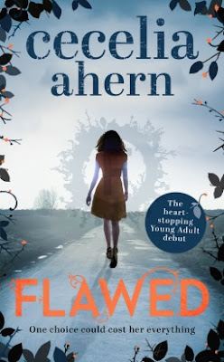 Book cover Flawed by Cecelia Ahern
