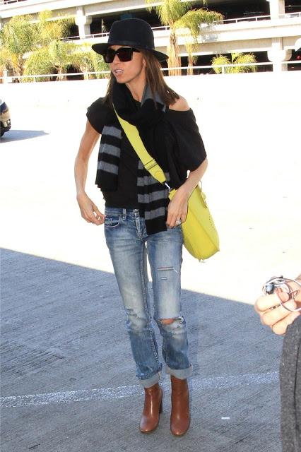 Ideation Fashion Giuliana Rancic Wearing A Lemon Hermes