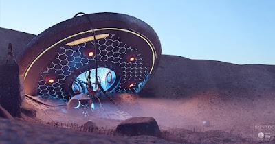 UFO Crash Site