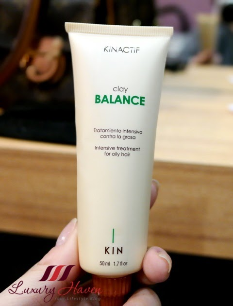 jass hair design kinactif clay balance intensive treatment