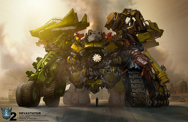 Transformers Concept Cybertron Art War Soundwave