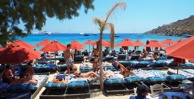 Praia Psarou, Mykonos
