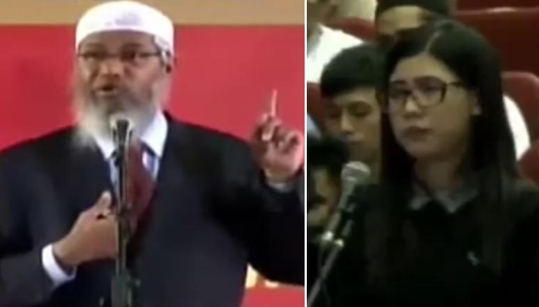 Wanita ini masuk Islam setelah pertanyaannya dijawab Dr Zakir Naik di Unhas Makassar