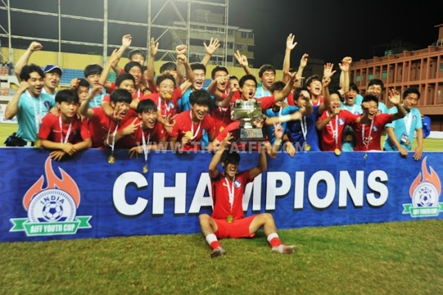 South Korea win AIFF Youth Cup 2016