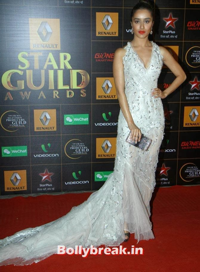 Shraddha Kapoor, Star Guild Awards 2014 Pictures